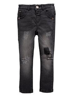 mini-v-by-very-boys-skinny-black-patch-jean-with-stretch