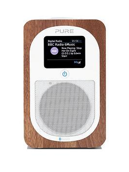 Pure Pure Evoke H3 DabFm Bluetooth Digital Radio Walnut
