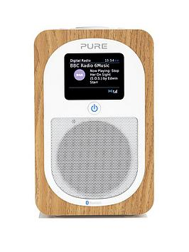 Pure Pure Evoke H3 DabFm Bluetooth Digital Radio Oak