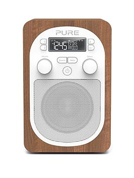 Pure Pure Evoke H2 DabFm Portable Digital Radio Walnut