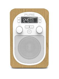 pure-pure-evoke-h2-dabfm-portable-digital-radio-oak