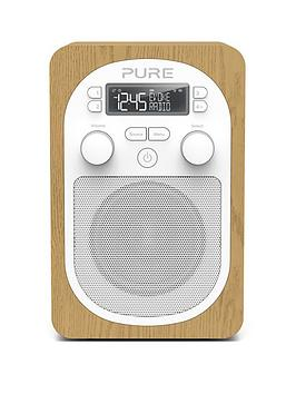 Pure Pure Evoke H2 DabFm Portable Digital Radio Oak