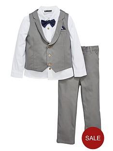 mini-v-by-very-boys-grey-herringbone-3-piece-occasion-outfit