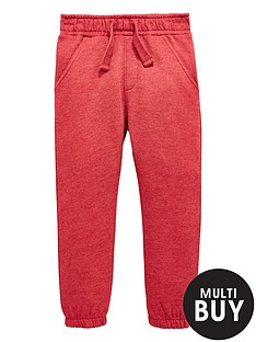 mini-v-by-very-boys-red-marl-jersey-jogger