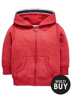 mini-v-by-very-boys-red-marl-jersey-hoody