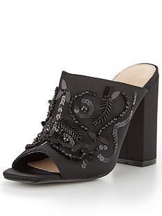 v-by-very-charm-embellished-mule-black