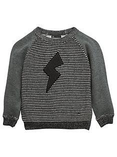 mini-v-by-very-boys-lightning-bolt-knitted-jumper