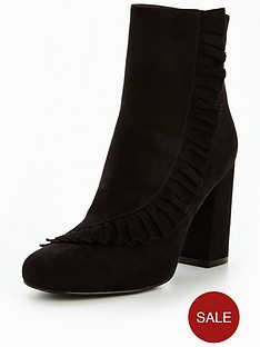 v-by-very-posie-frilly-heeled-ankle-boot-black