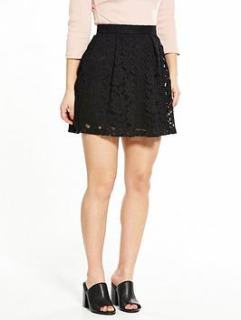 V By Very Petite Lace Prom Mini Skirt