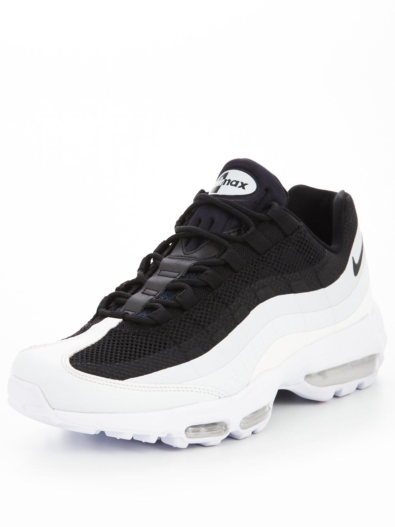 Nike Air Max 95 Ultra Essential Black/White/Platinum 1600172165 Men's Shoes Nike Trainers
