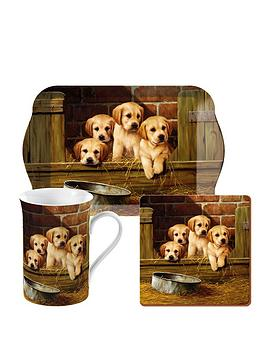 Creative Tops Creative Tops Labrador Pups Time For Tea Gift Set