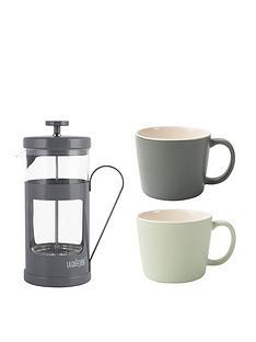 la-cafetiere-la-cafetiere-8-cup-monaco-cafetiere-amp-2-cup-set