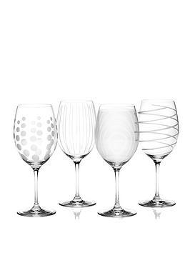 Creative Tops Mikasa Red Wine Glasses Set Of 4