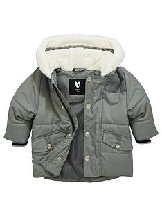 mini-v-by-very-baby-boys-fur-trim-parka