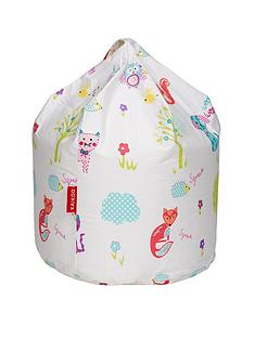 kaikoo-animal-friends-printed-beanbag