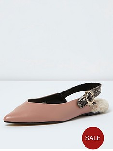 river-island-river-island-nude-fur-sock-sling-slipper-shoe
