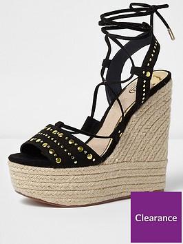 river-island-black-wedge-sandal