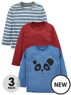 mini-v-by-very-baby-boys-3pk-panda-amp-stripe-tees