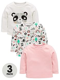 mini-v-by-very-baby-girls-3-pack-panda-tees