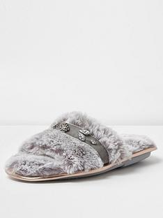 river-island-diamante-open-toe-slipper