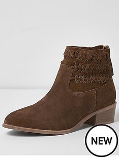 river-island-brown-suede-plaited-boot