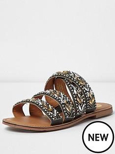 river-island-river-island-embellished-sandal-wide-fit