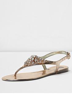 river-island-river-island-mika-embellished-jelly-sandal