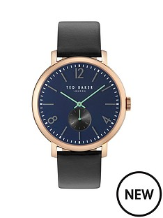 ted-baker-blue-multi-dial-black-leather-strap-mens-watch