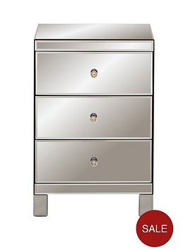 ideal-home-parisian-ready-assembled-smoked-mirror-3-drawer-bedside-cabinet