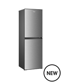 swan-sr8130snbsp55cmnbspfrost-free-fridge-freezer-stainless-steel-effect