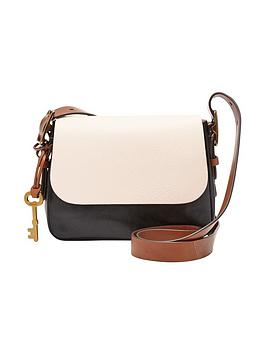 Fossil Harper Small Colourblock Crossbody Bag