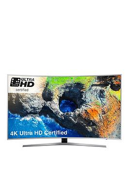 Samsung Ue55Mu6500 55 Inch 4K Ultra Hd Pro Hdr Freesat Hd Smart Led Curved Tv