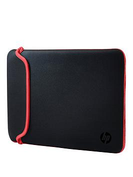 HP  Hp 15.6 Inch Neoprene Sleeve - Black/Red