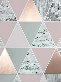 graham-brown-reflections-rose-gold-wallpaper