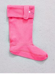 joules-girls-hare-welly-sock