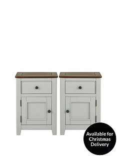 luxe-collection-newport-set-of-2-painted-ready-assembled-1-door-1-drawer-bedside-chests