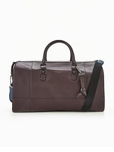 ted-baker-leather-holdall