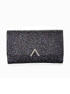 v-by-very-metal-v-bar-glitter-clutch-bag