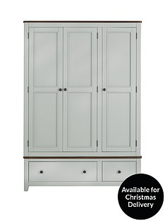 luxe-collection-newport-painted-3-door-2-drawer-wardrobe
