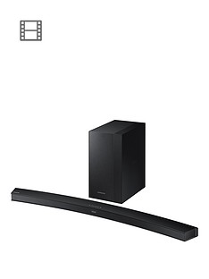 samsung-hw-m4500xu-soundbar-21ch-340w-wireless-subwoofer-curved-black-metal-grille-design
