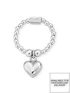chlobo-sterling-silver-mini-puffed-heart-ring