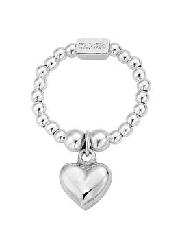 ChloBo Chlobo Sterling Silver Mini Puffed Heart Ring Picture