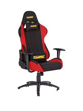 Brazen Shadow Pro Pc Gaming Chair Black And Red