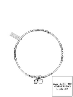 chlobo-sterling-silver-mini-noodle-cube-two-heart-charm-bracelet