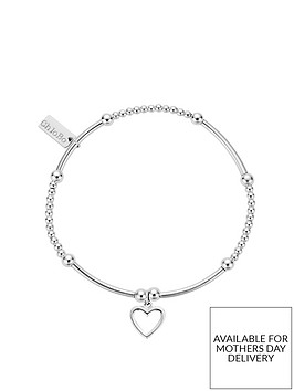 chlobo-sterling-silver-cute-mini-open-heart-bracelet