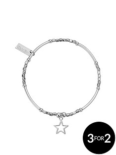 chlobo-chlobo-sterling-silver-mini-noodle-cube-small-open-star-charm-bracelet