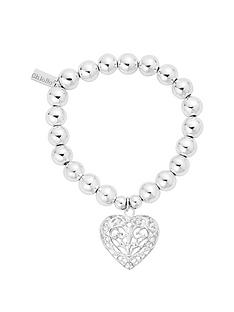 chlobo-chlobo-sterling-silver-medium-ball-filigree-heart-bracelet