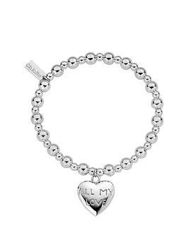 chlobo-sterling-silver-mini-small-ball-all-my-love-bracelet