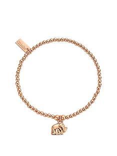 chlobo-chlobo-sterling-silver-rose-gold-plate-cute-charm-elephant-bracelet