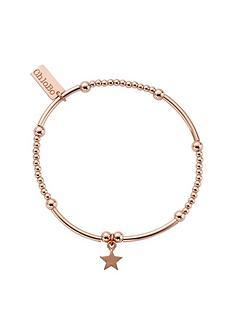 chlobo-chlobo-sterling-silver-rose-gold-plate-cute-mini-star-bracelet